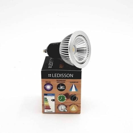 Bombilla LED 7w GU10 60º Reflex One - Ledisson