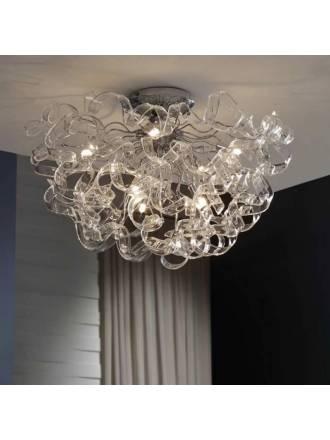 Lámpara de techo Nova 8L LED cristal - Schuller