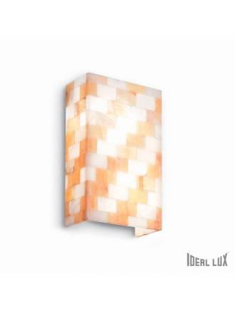 IDEAL LUX Scacchi 2L alabaster wall lamp