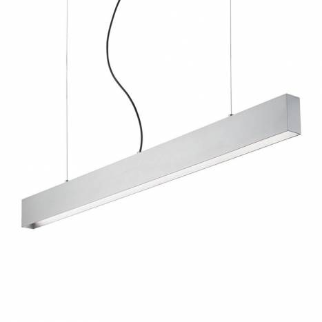 IDEAL LUX Club pendant lamp LED 24w silver
