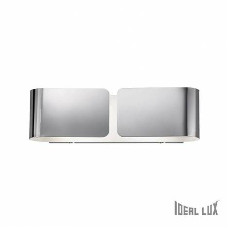 IDEAL LUX Clip 2L wall lamp chrome