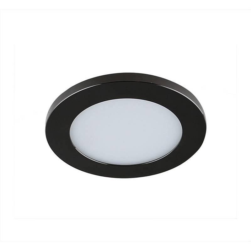Foco empotrable LC1452W LED negro - YLD