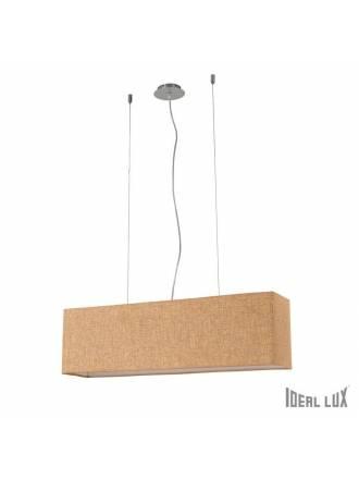 Lámpara suspensión Kronplatz 4L beige - Ideal Lux