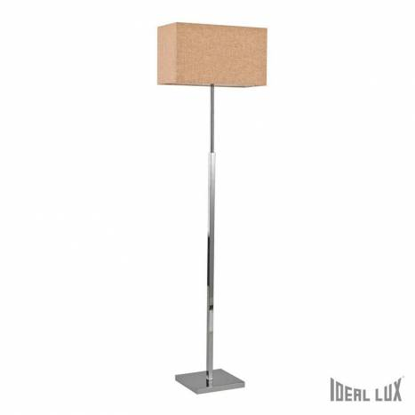 Lámpara de pie Kronplatz 1L beige - Ideal Lux