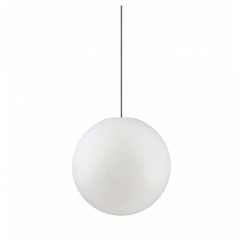 Lámpara exterior Sole 1L IP44 policarbonato - Ideal Lux