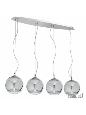 IDEAL LUX Discovery 4L chrome hanging lamp