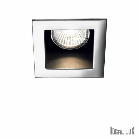 IDEAL LUX Funky GU10 recessed light chrome