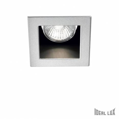 IDEAL LUX Funky GU10 recessed light silver