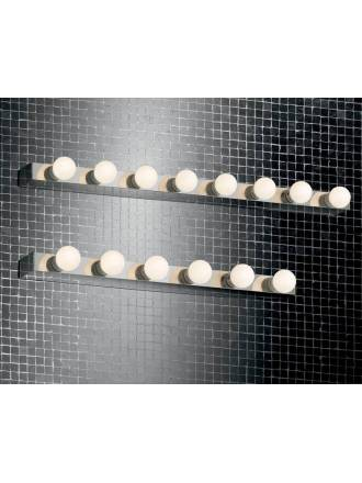 IDEAL LUX Prive chrome wall lamp