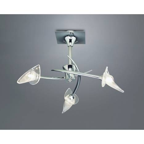 Mantra Flavia ceiling lamp 3l chrome