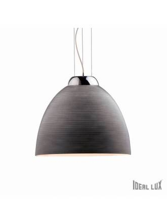 IDEAL LUX Tolomeo 1L blown glass hanging lamp
