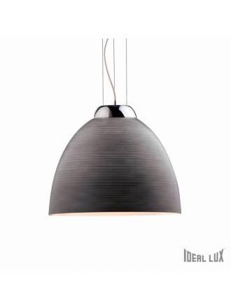 Lámpara suspensión Tolomeo 1L vidrio Ideal Lux