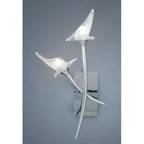 Mantra Flavia wall lamp 2l chrome