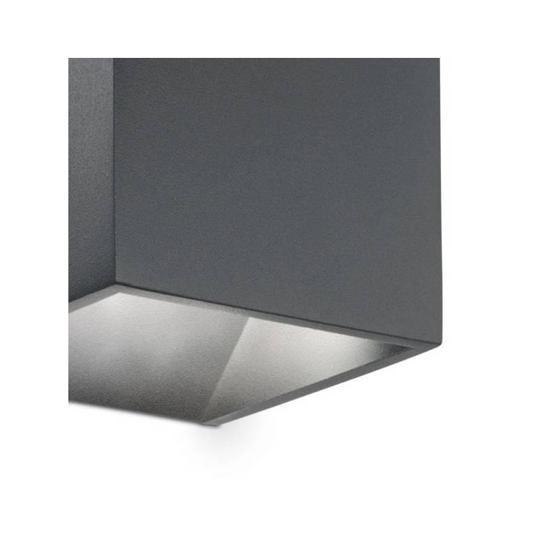 Aplique de exterior rubik ip44 led 6w ideal lux for Aplique exterior led