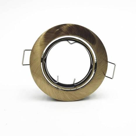 MASLIGHTING 202 round recessed light bronze