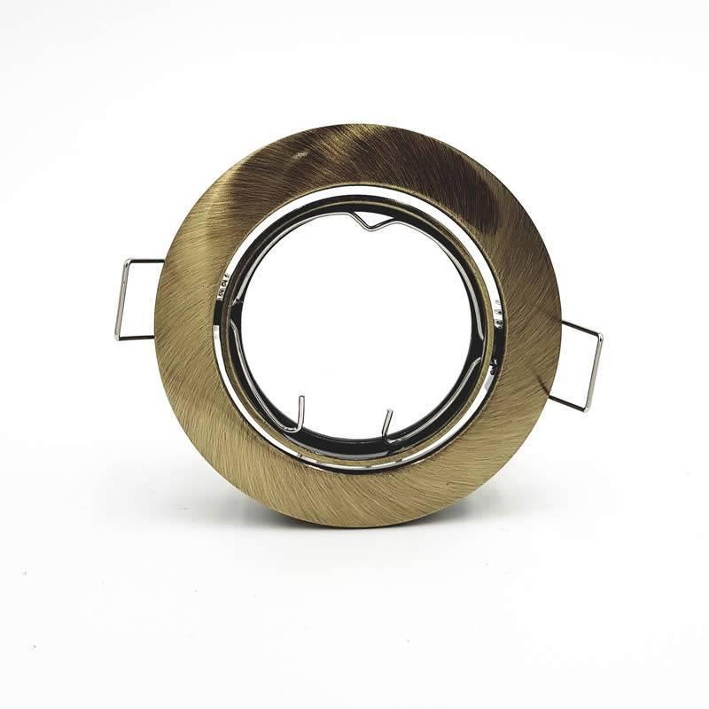 Maslighting 202 Gu10 Round Recessed Light Bronze