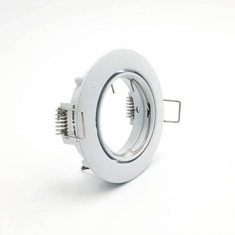 Foco empotrable 202 circular blanco