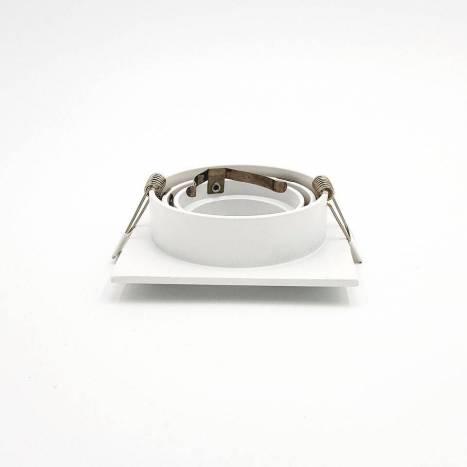 MANTRA Tek square recessed light white