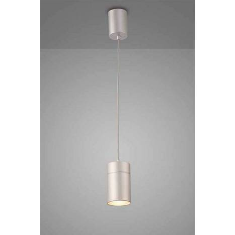 Lámpara colgante Aruba 1 luz 5625 gris plata - Mantra