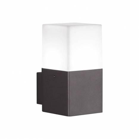 Aplique de pared Hudson 1 luz LED gris pizarra - Trio