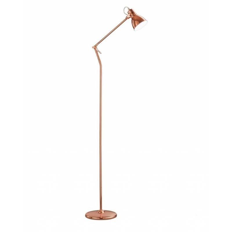 Lámpara de pie Jasper 1L E14 cobre - Trio