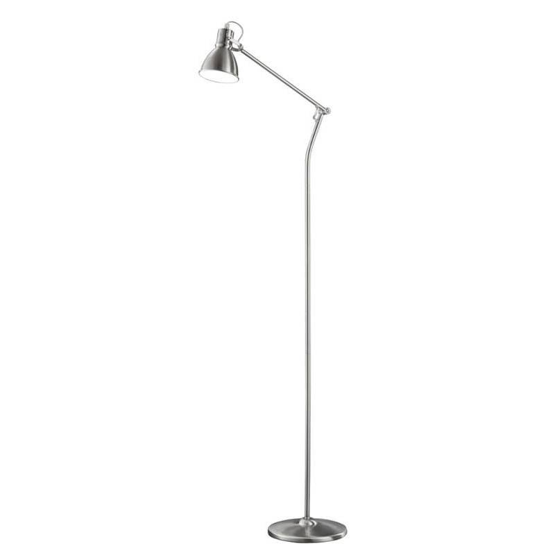 TRIO 3005 floor lamp 1L nickel mat