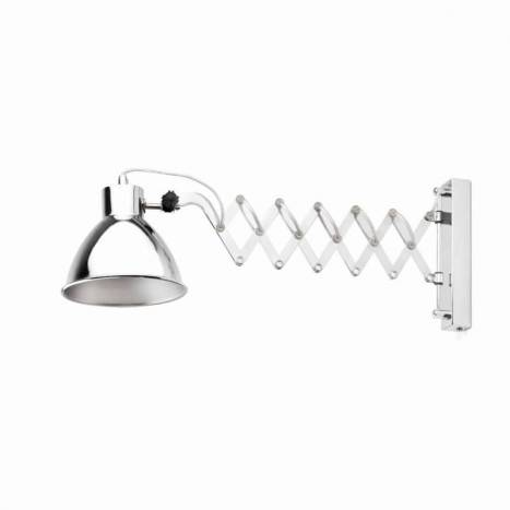 FARO Petra wall lamp 1L steel