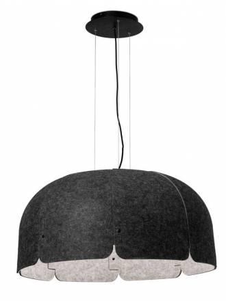 Lámpara colgante Mute LED 36w textil - Faro