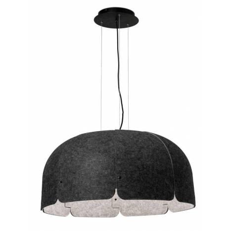 FARO Mute LED 36w textile fiber pendant lamp