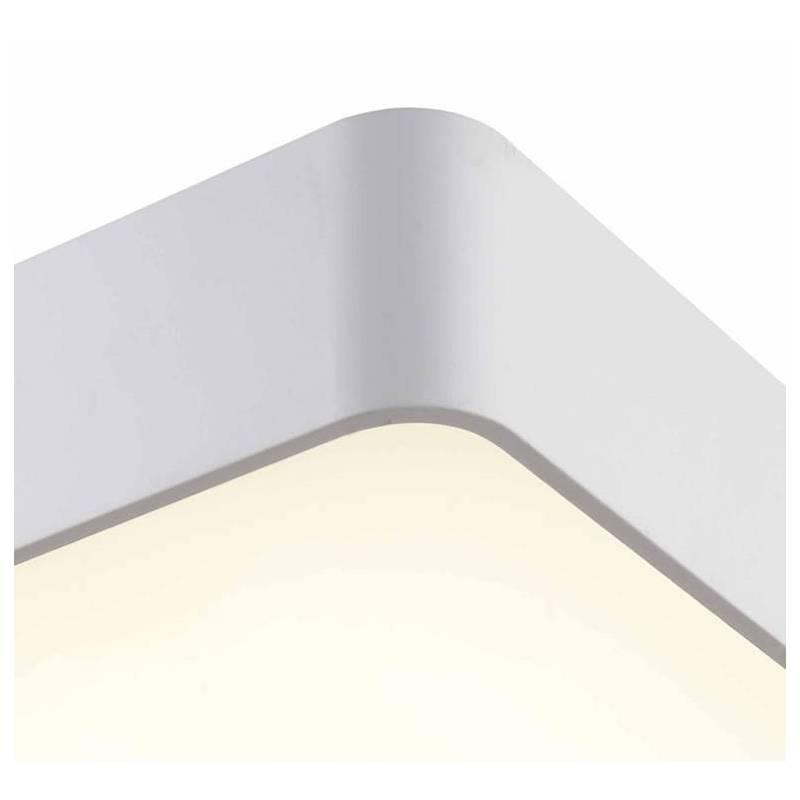 Plaf n de techo cumbuco led 35w metal blanco mantra - Plafon led techo ...