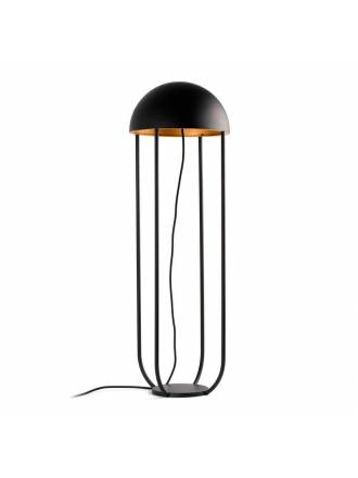 FARO Jellyfish LED 6w black + gold floor lamp