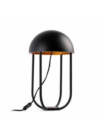 FARO Jellyfish LED 6w black + gold table lamp
