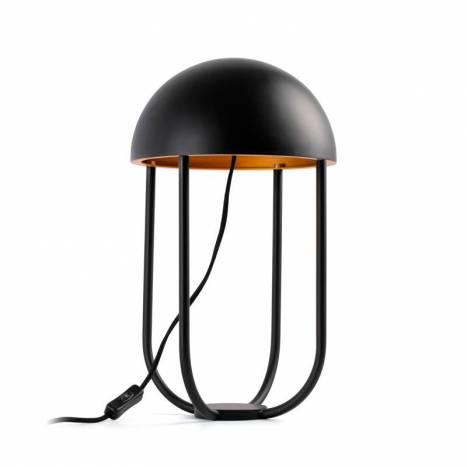 Lámpara de mesa Jellyfish LED negro + oro - Faro