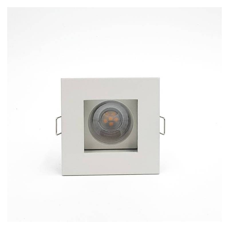 Win square recessed light white arkoslight win square recessed light white aloadofball