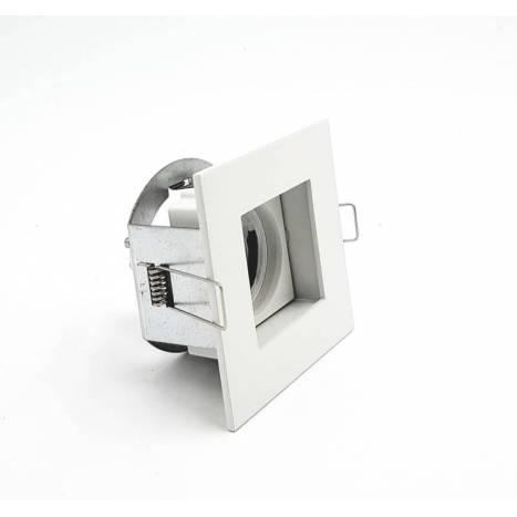 Foco empotrable Win cuadrado blanco de Arkoslight