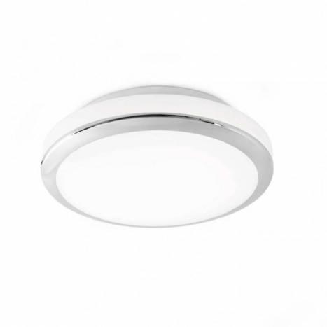 Plafón de techo Cloe LED 24w cromo - Faro