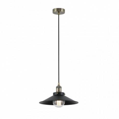 Lámpara colgante Marlin metal negro - Faro