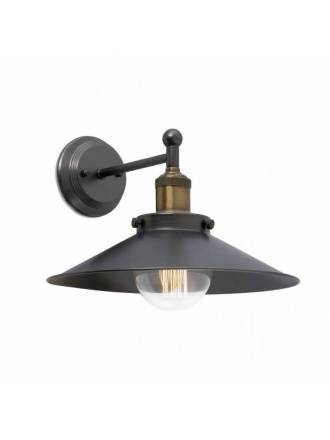 Aplique de pared Marlin 1L E27 metal - Faro