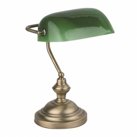 Banker table lamp 1l bronze metal faro banker table lamp 1l bronze metal aloadofball Images