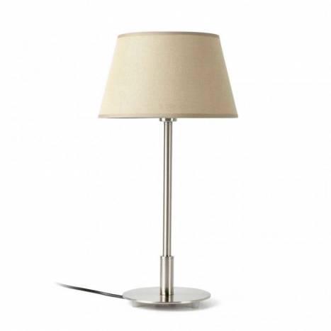 Lámpara de mesa Mitic 1 luz beige - Faro