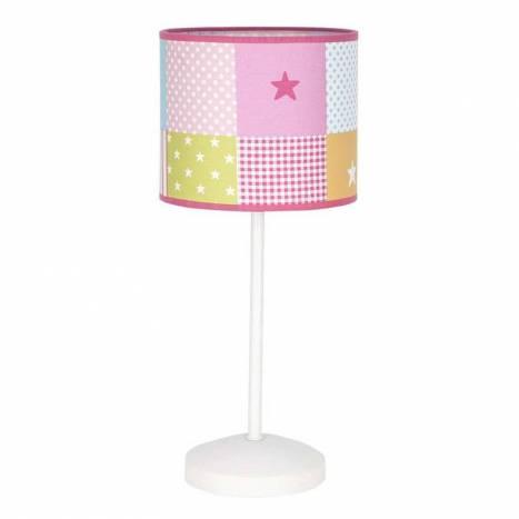 Lámpara de mesa infantil Cuadros 1L - Fabrilamp