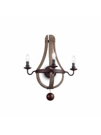 IDEAL LUX Millennium wall lamp wood