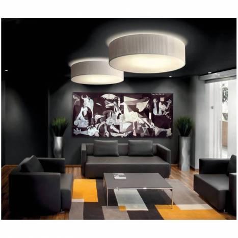 Plafón de techo Simplicity plisada crema - Massmi