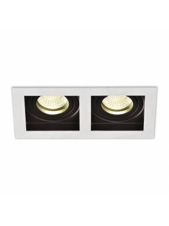ACB San 2xGU10 recessed light white