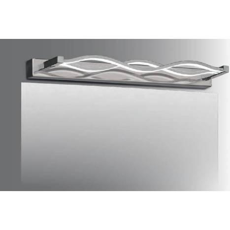 ACB Wave LED 16w wall lamp chrome