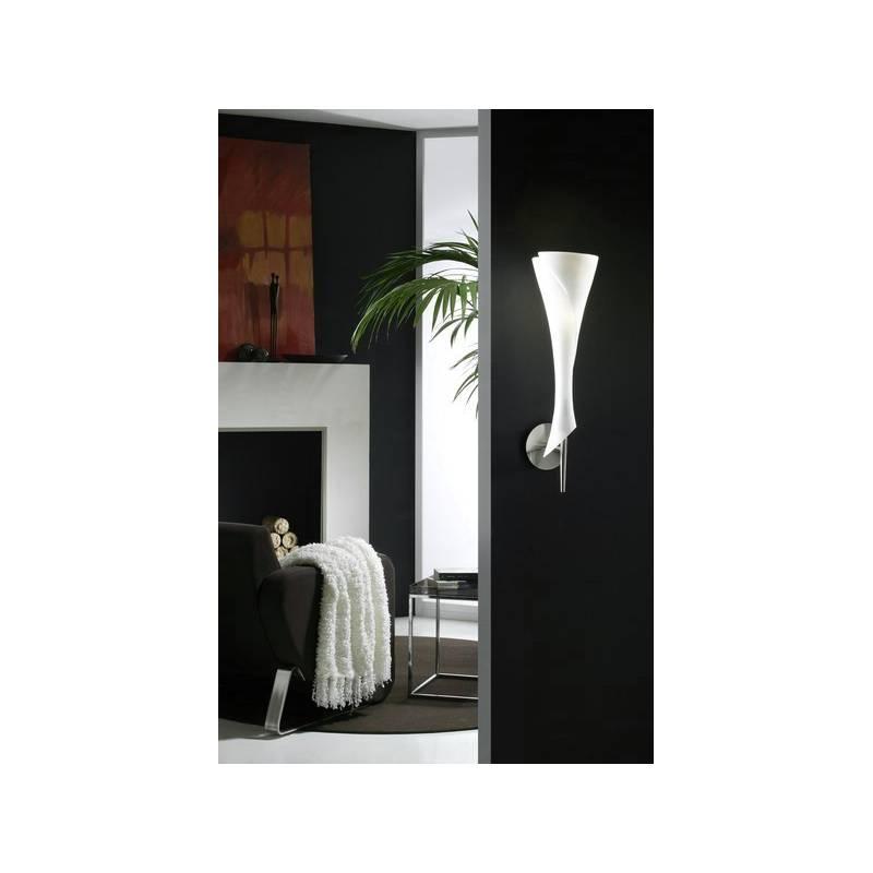 Mantra Zack wall lamp 1L opal glass
