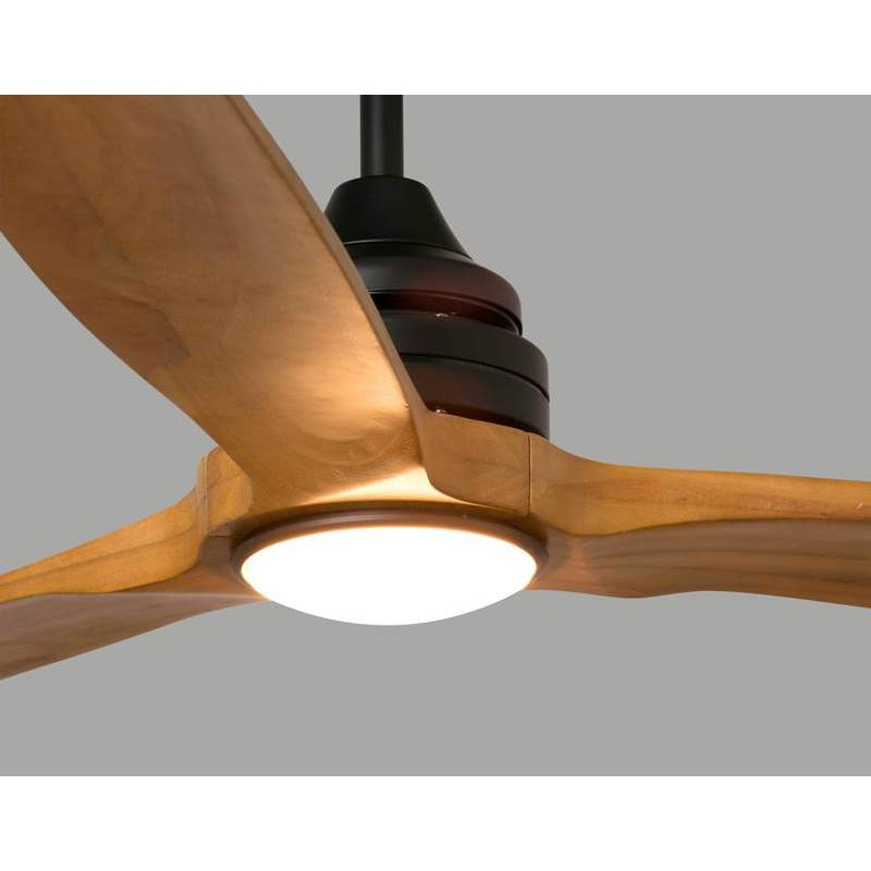 Faro Alo 1l Natural Wood Pine Ceiling Fan
