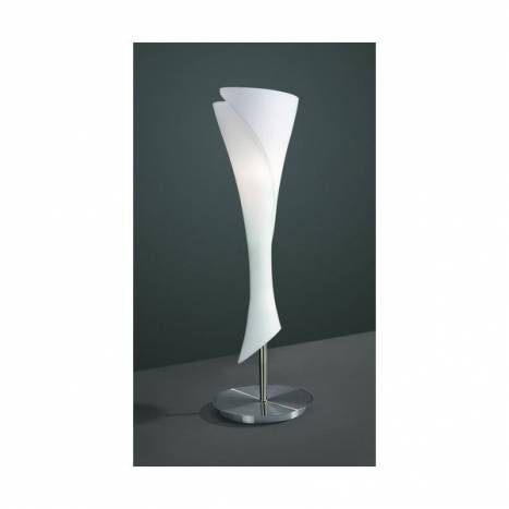 Mantra Zack table lamp 1L opal glass