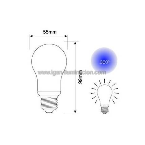 Bombilla LED 7w E27 230v Standard de Maslighting