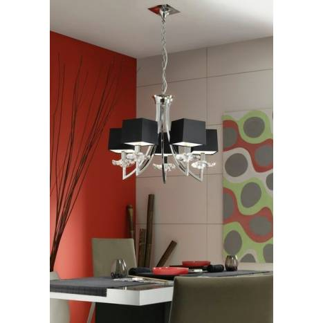 Mantra Akira ceiling lamp 5L colors